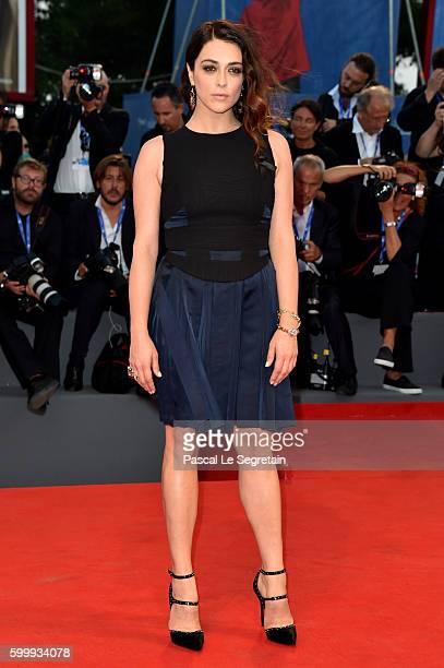 Valentina Lodovini attends the premiere of 'Jackie' during the 73rd Venice Film Festival at Sala Grande on September 7 2016 in Venice Italy
