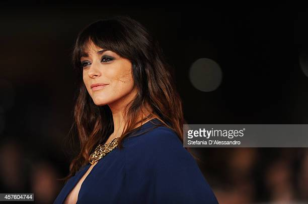 Valentina Lodovini attends the 'Tre Tocchi' Red Carpet during the 9th Rome Film Festival on October 21 2014 in Rome Italy