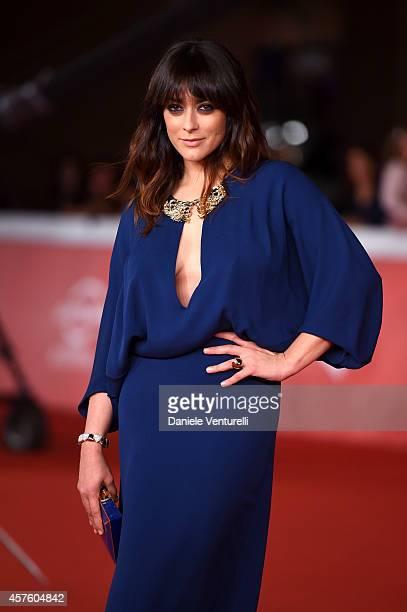Valentina Lodovini attends 'Tre Tocchi' Red Carpet during the 9th Rome Film Festival at Auditorium Parco Della Musica on October 21 2014 in Rome Italy
