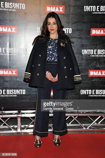 Valentina Lodovini attends 'Unto E Bisunto' premiere on December 6 2016 in Rome Italy