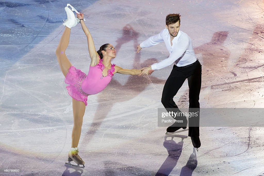 <a gi-track='captionPersonalityLinkClicked' href=/galleries/search?phrase=Valentina+Marchei&family=editorial&specificpeople=734432 ng-click='$event.stopPropagation()'>Valentina Marchei</a> and Ondrej Hotarek during the 8th edition of Golden Skate Awards at Palavela of Turin.