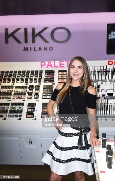 Valentina Marchetti attends Louise Roe For Kiko Milano At Kiko Milano Hollywood Venue on October 14 2017 in Hollywood California