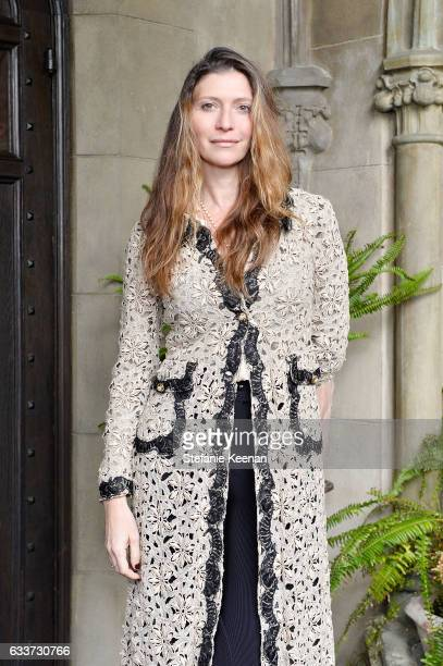 Valentina Micchetti attends Barneys New York Michelle Alves Oseary Celebrate Ana Khouri at Chateau Marmont on February 3 2017 in Los Angeles...
