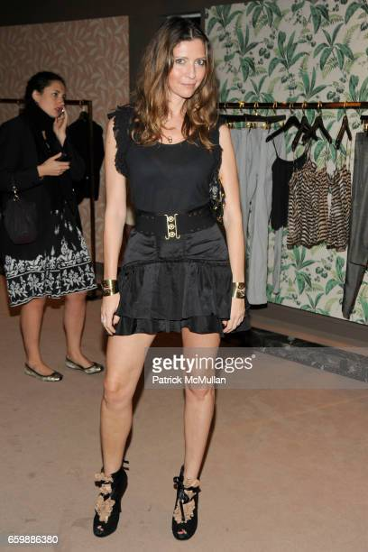 Valentina Micchetti attends JOSEPH ALTUZARRA Private Cocktail Party at THE WEBSTER at The Webster on December 5 2009 in Miami Beach Florida