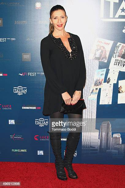 Valentina Micchetti attends the 11th Cinema Italian Style opening night screening of 'Don't Be Bad' held at the Egyptian Theatre on November 12 2015...