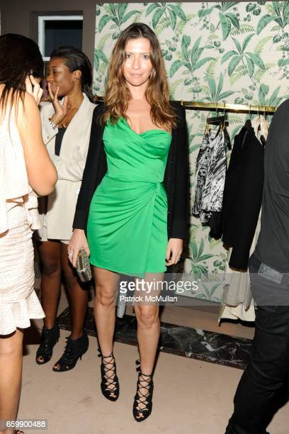 Valentina Micchetti attends VIKTOR ROLF Private Dinner at THE WEBSTER at The Webster on December 4 2009 in Miami Beach Florida