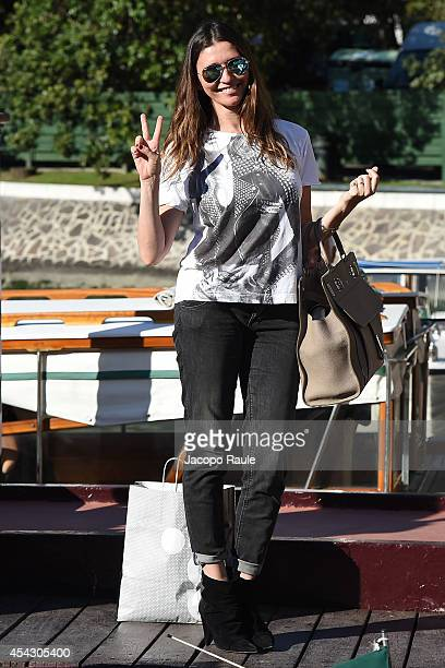 Valentina Micchetti is seen during The 71st Venice International Film Festival on August 28 2014 in Venice Italy
