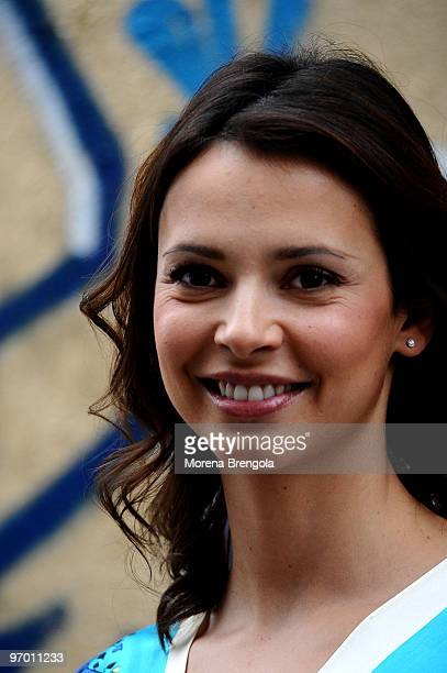 Valentina Pace attends the Italian tv show 'Scalo 76' on October 22 2008 in Milan Italy