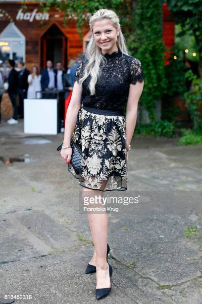 Valentina Pahde attends the Kaufland Hosts VIP BBQ at OberhafenKantine on July 12 2017 in Berlin Germany