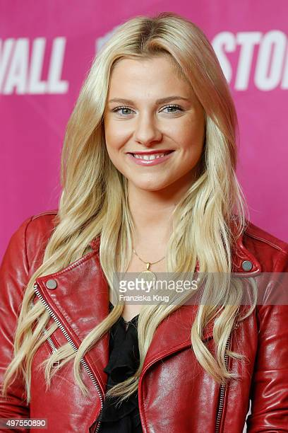 Valentina Pahde attends the 'Stonewall' German Premiere on November 17 2015 in Berlin Germany