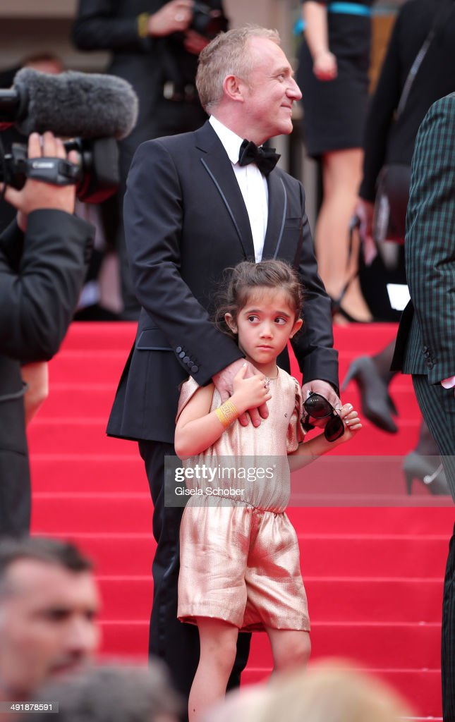 <a gi-track='captionPersonalityLinkClicked' href=/galleries/search?phrase=Valentina+Paloma+Pinault&family=editorial&specificpeople=5557938 ng-click='$event.stopPropagation()'>Valentina Paloma Pinault</a> (daughter of Salma Hayek) and <a gi-track='captionPersonalityLinkClicked' href=/galleries/search?phrase=Francois-Henri+Pinault&family=editorial&specificpeople=532174 ng-click='$event.stopPropagation()'>Francois-Henri Pinault</a> attend 'The Prophet' Premiere at the 67th Annual Cannes Film Festival on May 17, 2014 in Cannes, France.