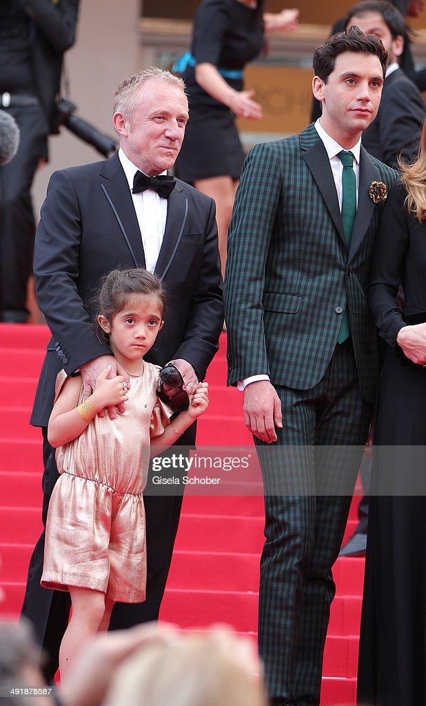 <a gi-track='captionPersonalityLinkClicked' href=/galleries/search?phrase=Valentina+Paloma+Pinault&family=editorial&specificpeople=5557938 ng-click='$event.stopPropagation()'>Valentina Paloma Pinault</a> (daughter of Salma Hayek) and <a gi-track='captionPersonalityLinkClicked' href=/galleries/search?phrase=Francois-Henri+Pinault&family=editorial&specificpeople=532174 ng-click='$event.stopPropagation()'>Francois-Henri Pinault</a> , <a gi-track='captionPersonalityLinkClicked' href=/galleries/search?phrase=Mika+-+Singer&family=editorial&specificpeople=686723 ng-click='$event.stopPropagation()'>Mika</a> attend 'The Prophet' Premiere at the 67th Annual Cannes Film Festival on May 17, 2014 in Cannes, France.