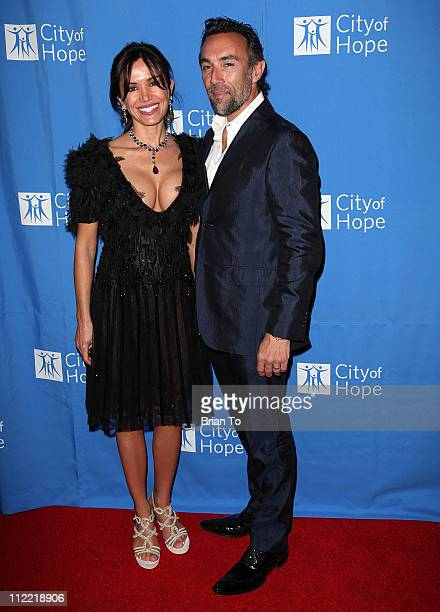 Valentina Quinn and Francesco Quinn attend Renato Balestra fashion show and cocktail reception benefiting City of Hope at Millennium Biltmore Hotel...