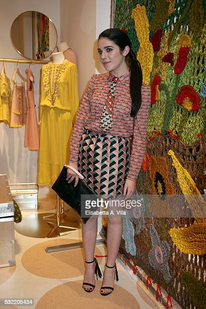 Valentina Romani attends RED Valentino Boutique Opening Party at Via del Babuino on May 18 2016 in Rome Italy