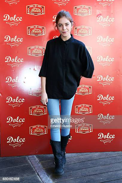 Valentina Romani attends the 'Fantastico Dolce Natale' Charity Lunch at Dolce restaurant on December 23 2016 in Rome Italy