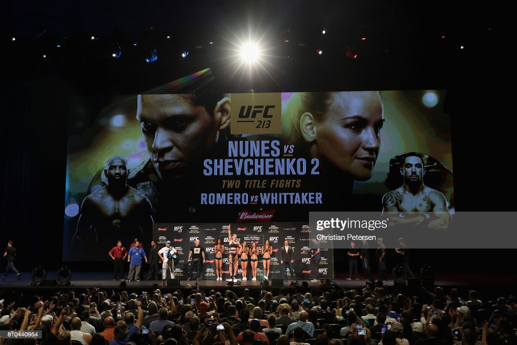 UFC 213: The Weigh-ins