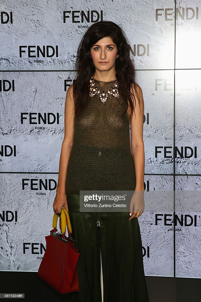 Valentina Siragusa attends the Fendi show during Milan Menswear Fashion Week Spring Summer 2015 on June 23, 2014 in Milan, Italy.