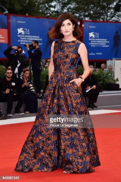 Valentina Siragusa walks the red carpet ahead of the 'Ammore E Malavita' screening during the 74th Venice Film Festival at Sala Grande on September 6...