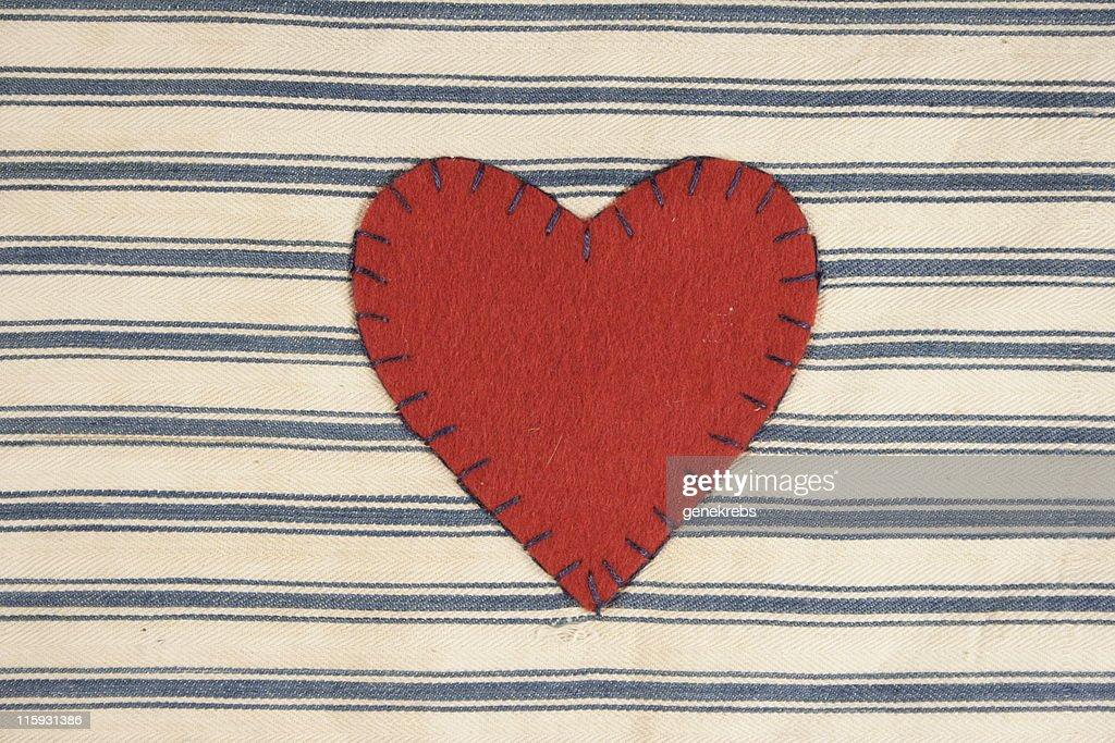 Valentine Cloth Heart