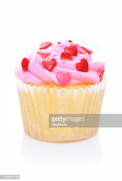 Valentinstag-cupcake