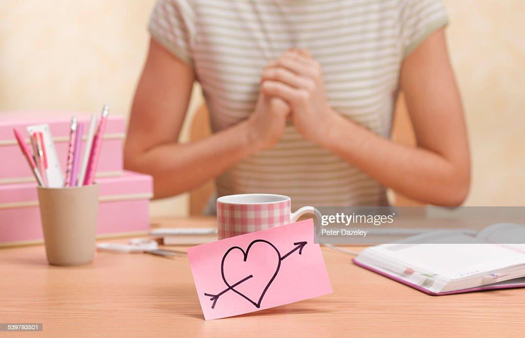 Valentine day office romance