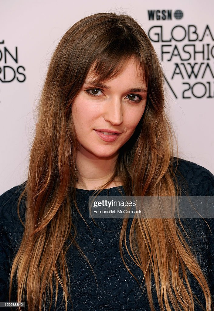 Valentine Fillol Cordier during the WGSN Global Fashion Awards at The Savoy Hotel on November 5, 2012 in London, England.