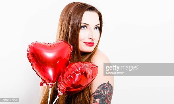 Fille de la Saint-Valentin