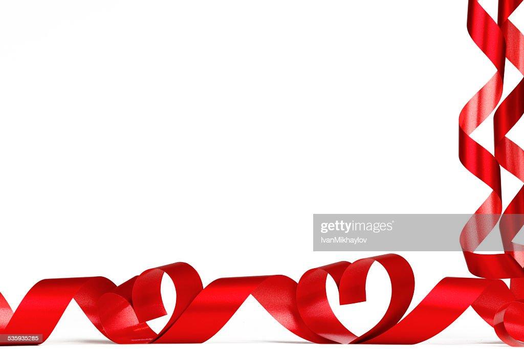 Valentine Heart frame : Stock Photo