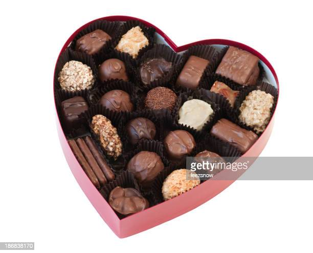 Valentine Heart Shaped Box of Chocolates