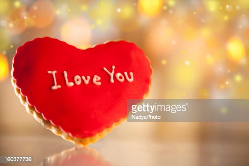 Valentine's Cookies : Stock Photo