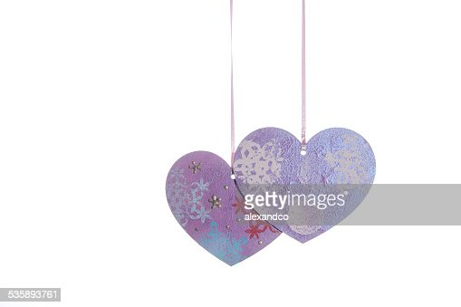 Valentines Day background with hearts : Bildbanksbilder