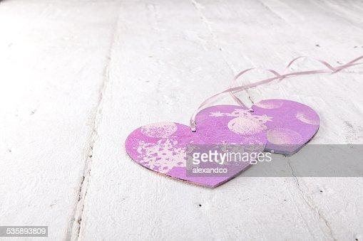 Valentinstag Hintergrund mit Herz : Stock-Foto