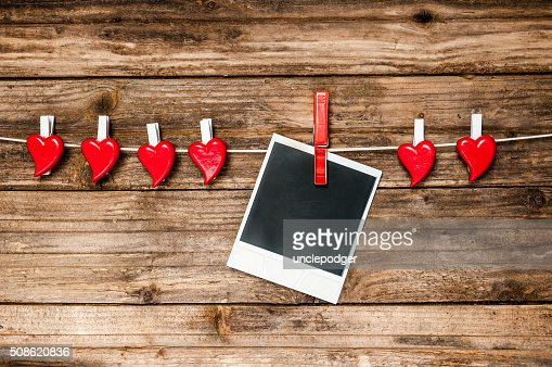 Valentines Day card : Stock Photo
