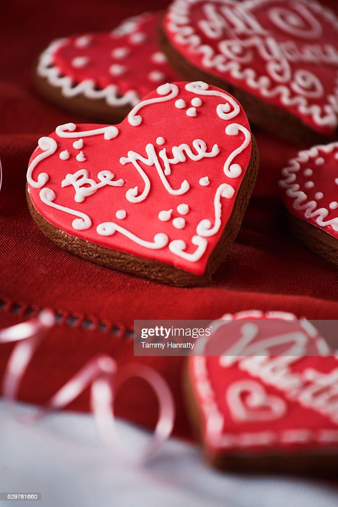 Valentine's Day Cookies : Stock Photo
