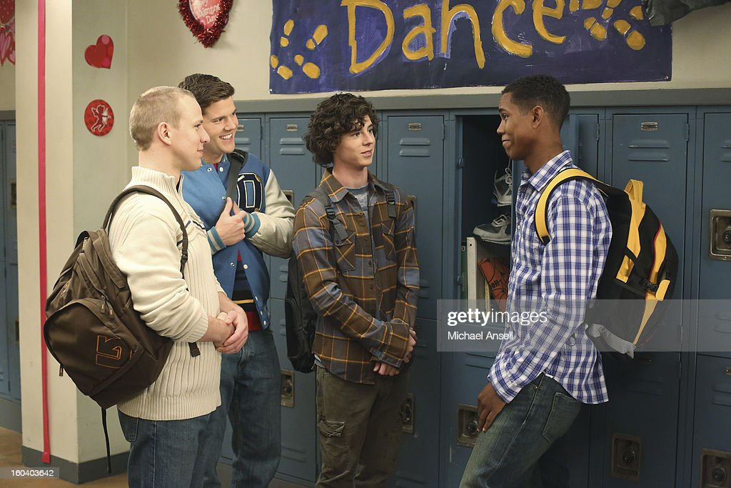 THE MIDDLE - 'Valentine's Day IV' - As Valentine's Day approaches, Axl takes Boss Co., with partners Sean and Darrin, to the next level by offering their services to help guys break up with their girlfriends. Meanwhile, Brick becomes upset with Frankie when he discovers that she has thrown out all of the school artwork he has made over the years, Sue is thrilled when ex-boyfriend Matt invites her to the school's Valentine's Day dance, and Mike accidentally sends a romantic text meant for Frankie to a co-worker at the quarry, on 'The Middle,' WEDNESDAY, FEBRUARY 13 (8:00-8:30 p.m., ET) on the ABC Television Network. BELLOW
