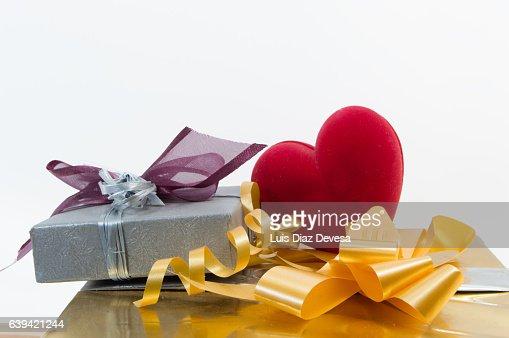Valentine's gift : Stock Photo