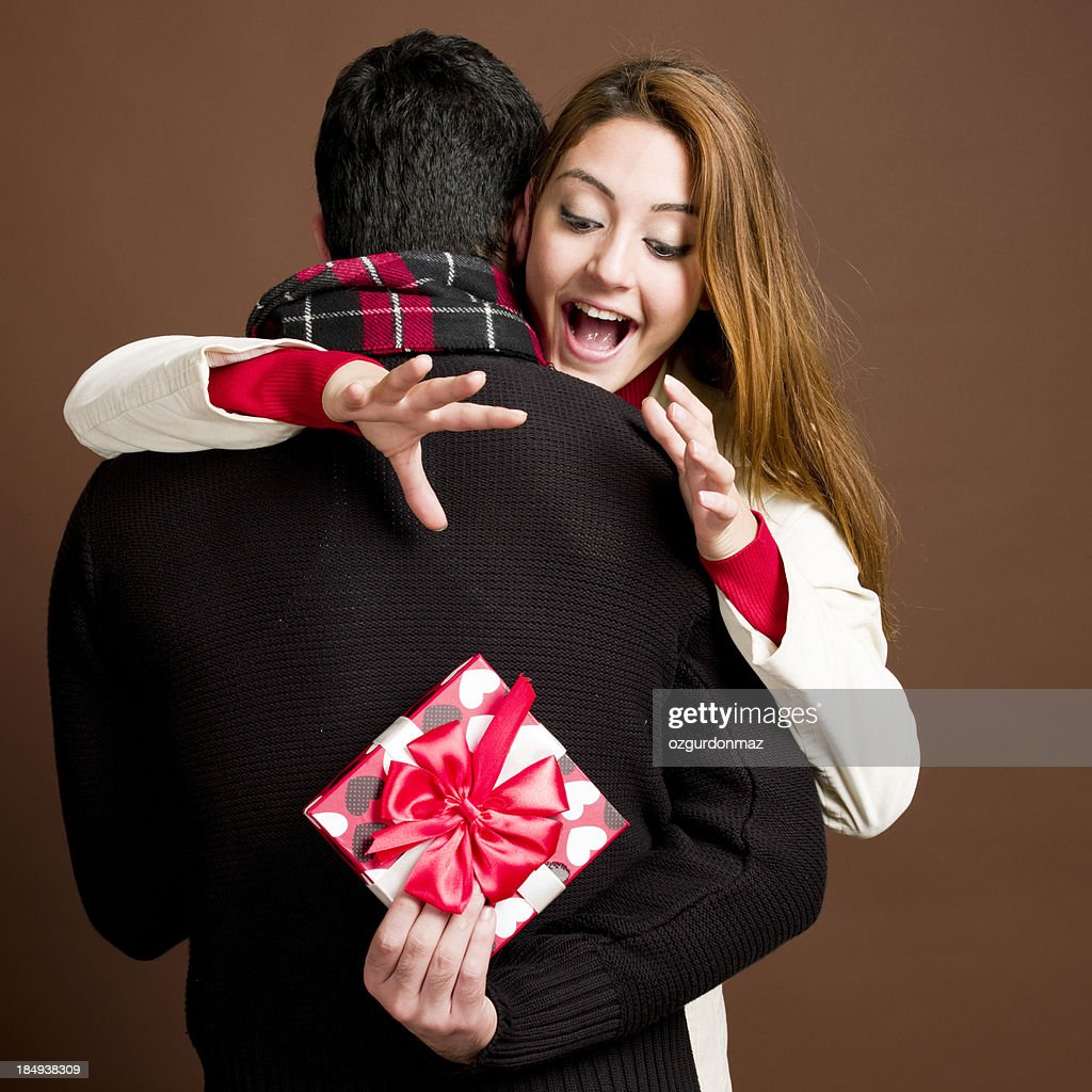 Valentine's Surprise : Stock Photo