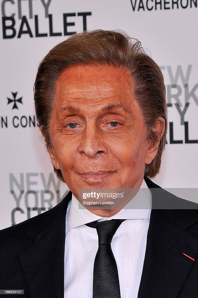 Valentino attends New York City Ballet's Spring 2013 Gala at David H. Koch Theater, Lincoln Center on May 8, 2013 in New York City.
