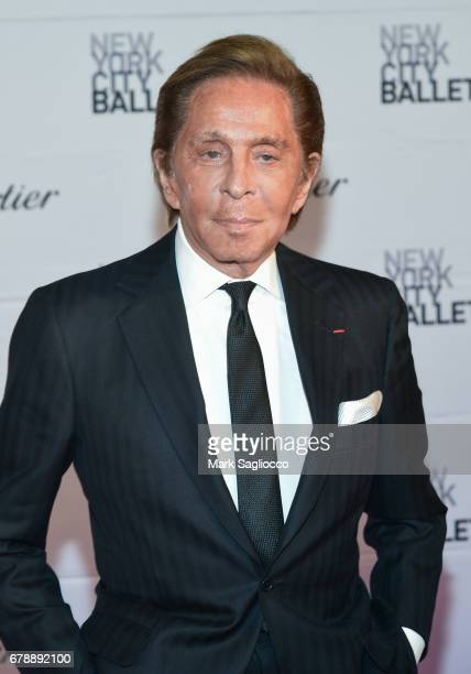 Valentino attends the New York City Ballet 2017 Spring Gala at the David H Koch Theater at Lincoln Center on May 4 2017 in New York City