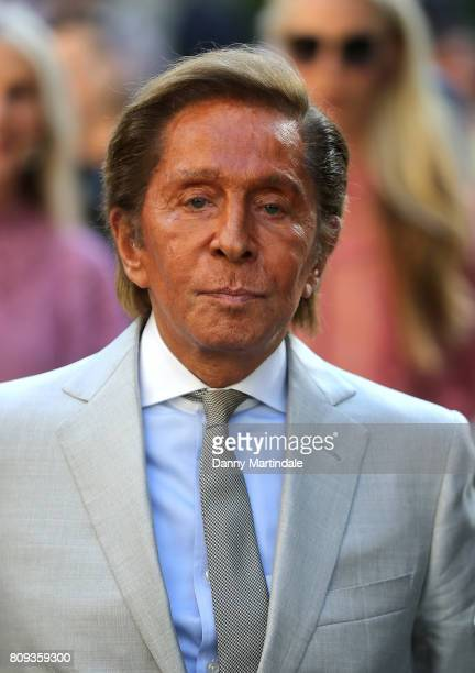 Valentino attends the Valentino Haute Couture Fall/Winter 20172018 show as part of Paris Fashion Week on July 5 2017 in Paris France