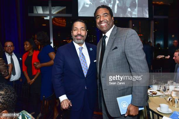 Valentino Carlotti and LP Green attend The Boys' Club of New York Annual Awards Dinner at Mandarin Oriental Hotel on May 17 2017 in New York City