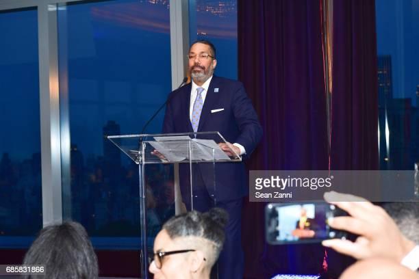 Valentino Carlotti speaks at The Boys' Club of New York Annual Awards Dinner at Mandarin Oriental Hotel on May 17 2017 in New York City
