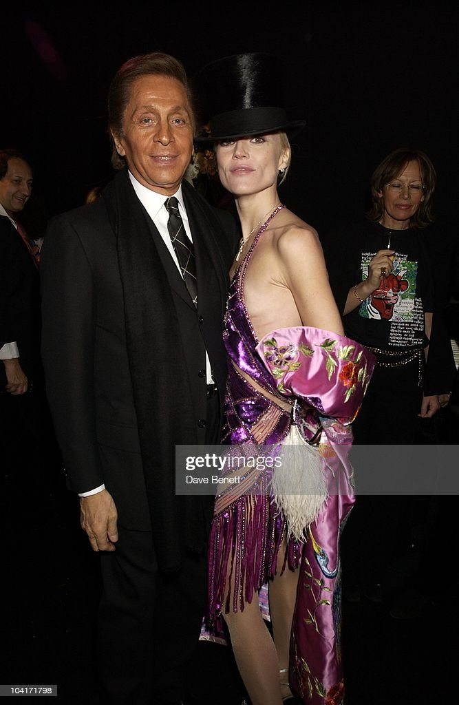 Valentino & Daphne Guinness, Valentino Party, At The Serpentine Gallery, London