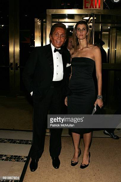 Valentino Garavani and Princess Rosario Nadal of Bulgaria attend Fashion Group International Presents The 22nd Annual Night of Stars Honoring 'The...