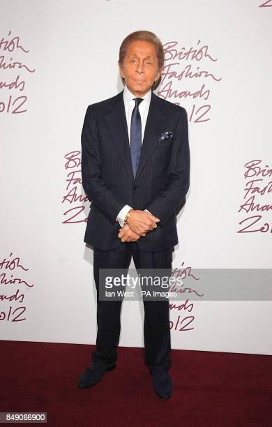Valentino Garavani at the 2012 British Fashion Awards at the the Savoy Hotel London
