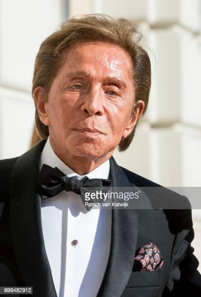 Valentino Garavani attends a concert for President Sergio Mattarella performed by Dutch violinist Janine Jansen at the Palazzo Colonna during the...