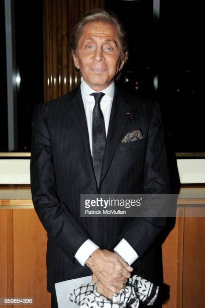 Valentino Garavani attends Celebration of the DVD release of VALENTINO THE LAST EMPEROR at The Standard on November 3 2009 in New York City