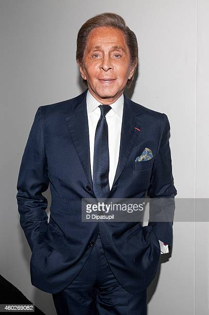 Valentino Garavani attends the Valentino Sala Bianca 945 Event on December 10 2014 in New York City