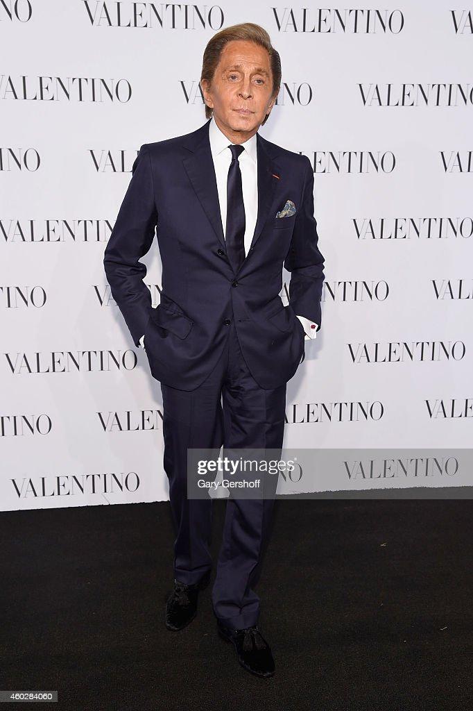 Valentino Garavani attends the Valentino Sala Bianca 945 Event on December 10, 2014 in New York City.