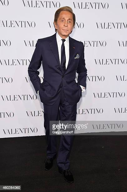 Valentino Garavani attends the Valentino Sala Bianca 945 Event on December 10 2014 in New York City